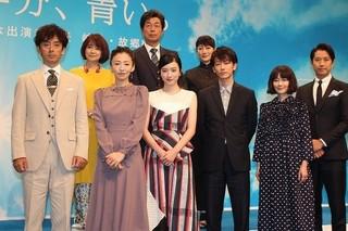 佐藤健&松雪泰子、永野芽郁主演「半分、青い。」で朝ドラ初出演!