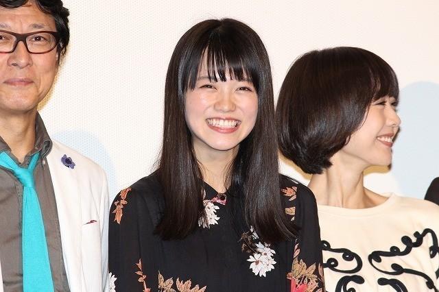 満面の笑みを浮かべる志田彩良