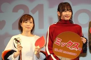 ガッキー、テンションMAX!石川佳純VS吉村真晴のガチンコ卓球勝負に大興奮