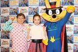 ももクロ・百田夏菜子、公開アフレコで「ゾロリ」原作者・原ゆたかの不安を払拭!