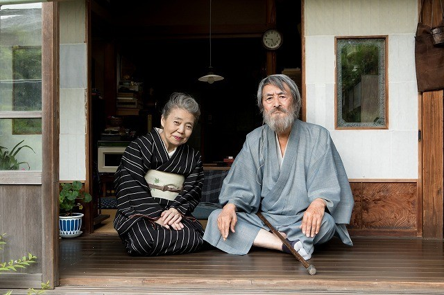 """出会いから56年 山崎努&樹木希林「モリのいる場所」で""""奇跡""""の初共演!"""