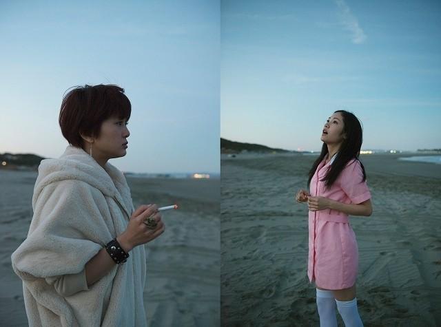 悪魔のような佐津川愛美、天使のような阿部純子!青春映画「ポンチョ」新画像公開