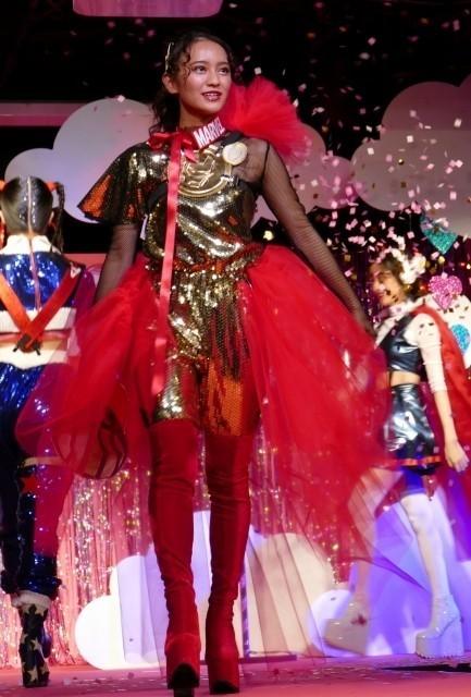 """アベンジャーズ×デザイナー五十嵐LINDA渉!岡田結実が""""カワイイ""""特注衣装で魅了"""