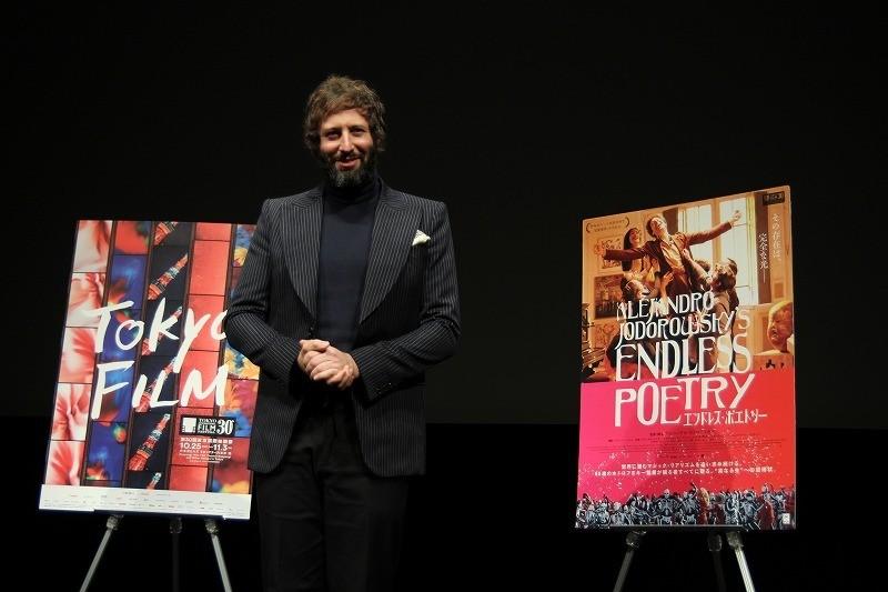 「エンドレス・ポエトリー」アダン・ホドロフスキーが来日 父の演出、家庭での姿を語る