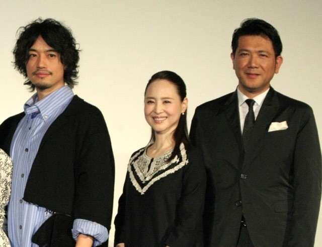 会見した斎藤工、松田聖子、別所哲也