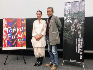 奈良での撮影秘話を明かした藤竜也と 河瀬直美監督