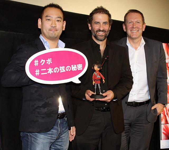 (左から)後藤太郎、ブラッド・シフ、ブラッド・バルド