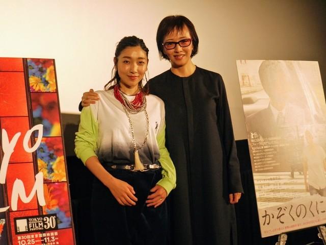 安藤サクラとヤン・ヨンヒ監督