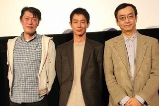 原恵一監督、加瀬亮、アニメ特撮研究家の氷川竜介氏「はじまりのみち」