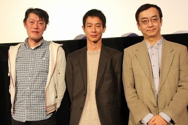 原恵一監督、加瀬亮、アニメ特撮研究家の氷川竜介氏