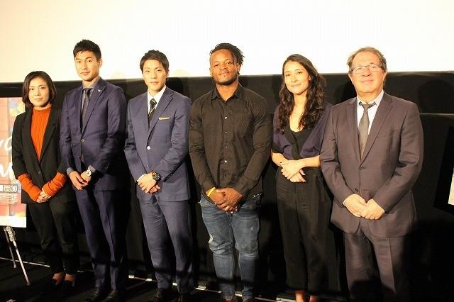リオ・オリンピック公式映画が世界初上映! 田知本遥らが白熱の大会を述懐