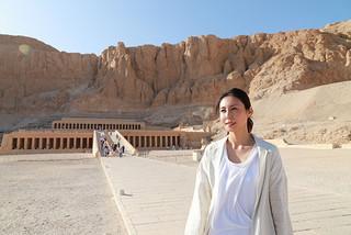 エジプト再訪を振り返った松嶋菜々子