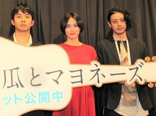 冨永監督の描くえげつないリアリティに 舞台挨拶は大盛り上がり「南瓜とマヨネーズ」