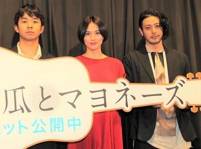 冨永監督の描くえげつないリアリティに 舞台挨拶は大盛り上がり