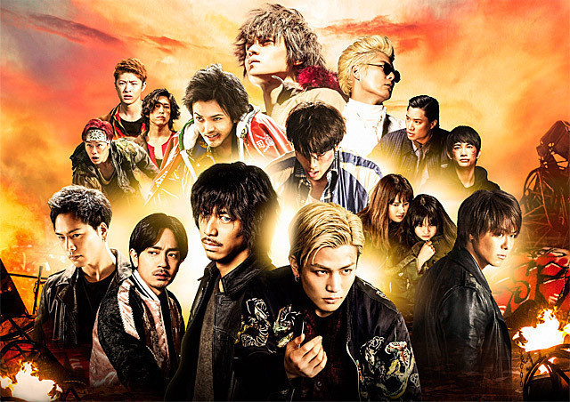 1位は「HiGH&LOW THE MOVIE 3 FINAL MISSION」