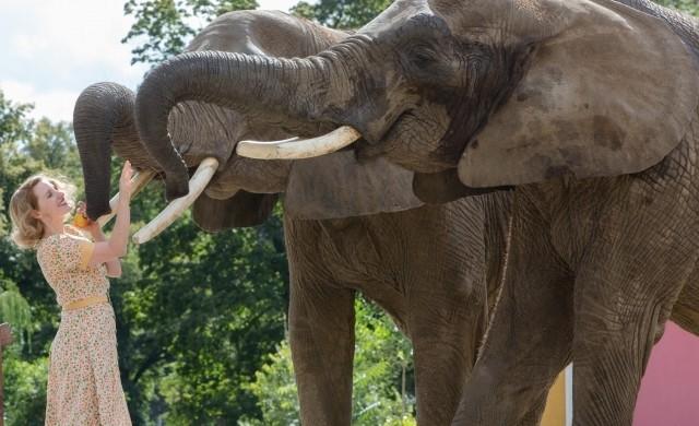 ジェシカ・チャステインと動物たちが触れ合う「ユダヤ人を救った動物園」本編映像公開