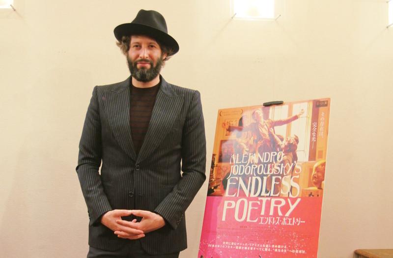 ホドロフスキー新作「エンドレス・ポエトリー」主演アダン、偉大な父との現場、自身のキャリア語る