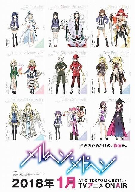 カントク氏によるキャラクター 原案を使用したポスター