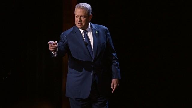 元米副大統領アル・ゴアはテロに屈しない 「不都合な真実2」本編映像披露