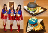 バットマンとスーパーマンがバーガー対決?東京コミコンに「DCカフェ」出展