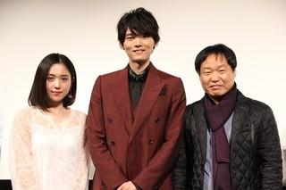 ヒロイン役の藤井武美は歓声にうれし泣き「風の色」