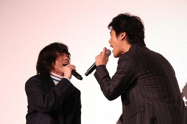 菅田将暉&桐谷健太「浅草キッド」を熱唱!観客の無茶ぶりに「慣れてしまった自分が怖い」