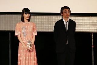 ティーチインを行った橋本愛と吉田大八監督「美しい星」