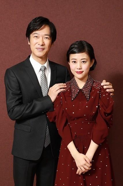 鎌倉で暮らす夫婦を演じた堺&高畑