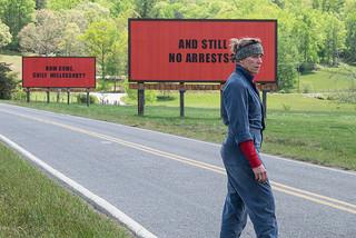 全米俳優組合賞は「スリー・ビルボード」が最多4ノミネート