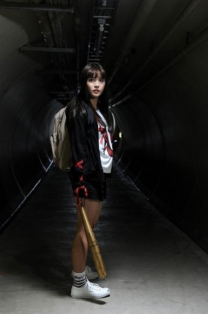 「SUPER☆GiRLS」浅川梨奈がゾンビに変身!?異色アイドル映画が2018年初夏公開