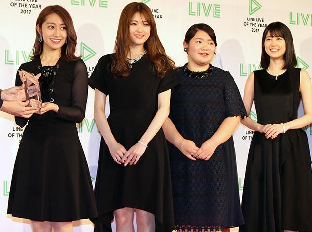 プロモーション部門を受賞した映画 「あさひなぐ」のメンバー
