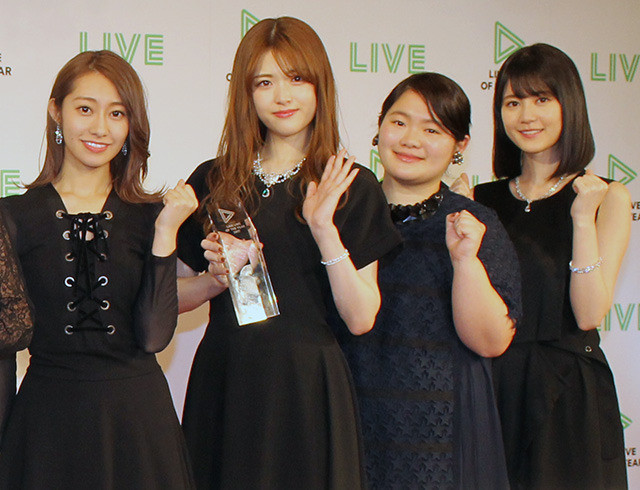 乃木坂・桜井「ハイテンションだった」LINE LIVEで受賞 生田はツッコミ「いつもよりしゃべっていた」 - 画像10