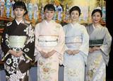 中山美穂「平成細雪」で共演の妹たちに感謝「ずっと続いていけばいい現場」