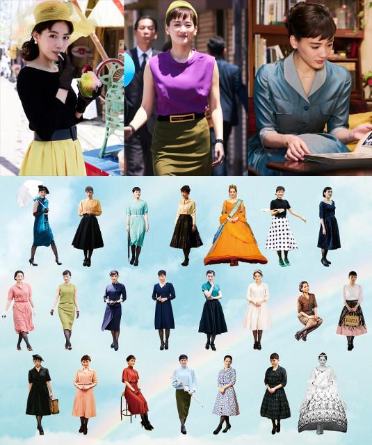 「今夜、ロマンス劇場で」綾瀬はるか、25変化!クラシカル&カラフルなドレス姿披露