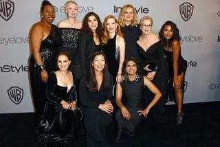 ゴールデングローブ賞の黒いドレスが「タイムズ・アップ」支援のオークションに出品