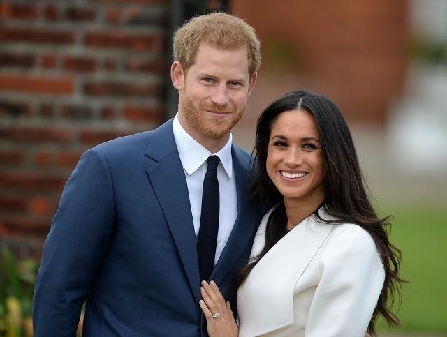 英ヘンリー王子と女優メーガン・マークルのテレビ映画制作