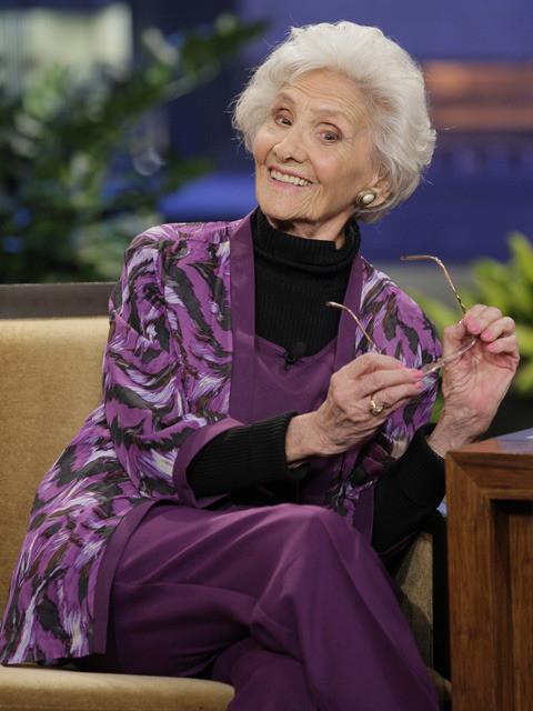 2013年、100歳でトーク番組に 出演した時の一場面