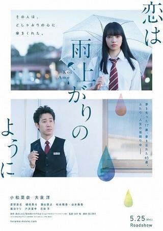 小松菜奈&大泉洋「恋は雨上がりのように」に戸次重幸&吉田羊ら出演!特報も完成