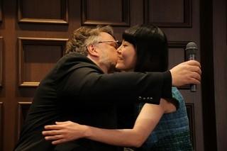 「シェイプ・オブ・ウォーター」デル・トロ監督、菊地凛子との再会に喜び爆発