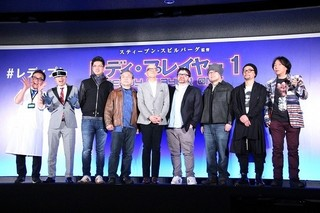 「SAO」原作者&監督、「ワンパンマン」村田雄介も「レディ・プレイヤー1」世界観に陶酔
