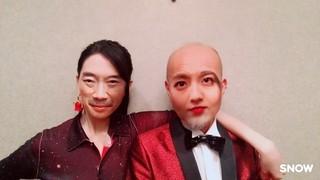 竹中直人と知英、山崎育三郎、大政絢が入れ替わり!「レオン」顔面交換画像公開