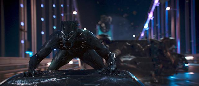 初登場1位の「ブラックパンサー」
