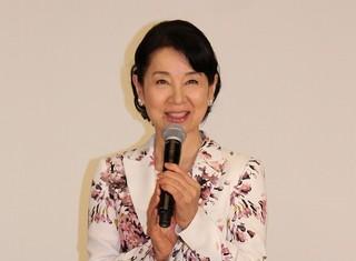 イベントに出席した吉永小百合「北の桜守」