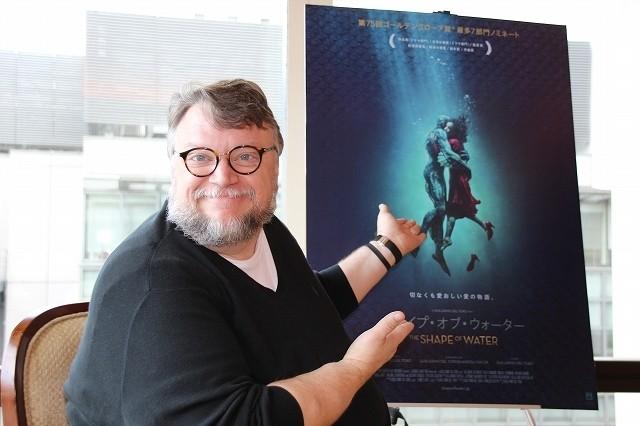 【デル・トロ監督インタビュー:前編】「シェイプ・オブ・ウォーター」のタイトルに込めた真意