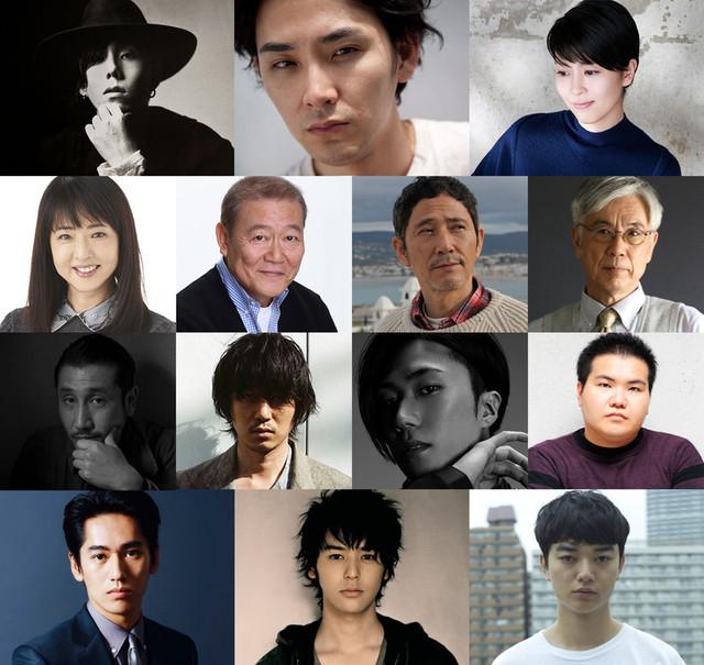 日本を代表する俳優12人が出演