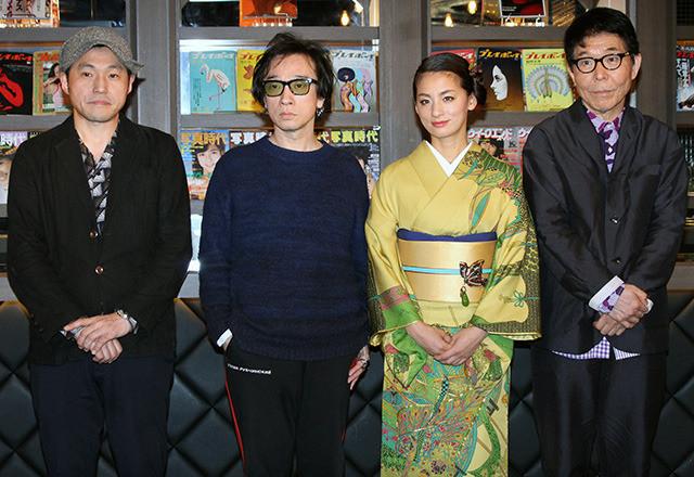 """尾野真千子""""歌手デビュー""""も自ちょう「悪口を言われているのかと」"""