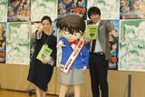 博多大吉「あさイチ」MCの練習で司会に挑戦 「コナン」公開アフレコで上戸彩にインタビュー