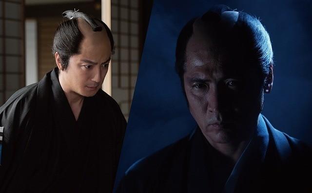 ドラマでバディを組む吉川晃司(右)と上地雄輔