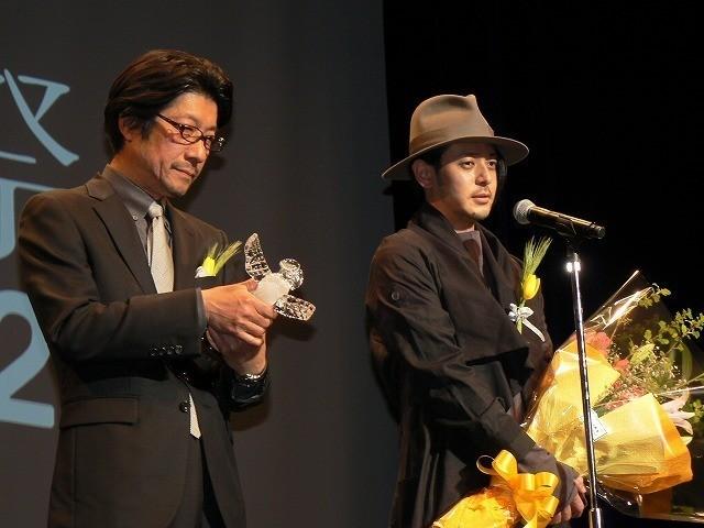 「ポエトリーエンジェル」岡山天音が第32回高崎映画祭最優秀新進男優賞を受賞