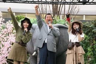 加山は、58年に及ぶ芸能生活で初めてPRイベントに参加「ジュマンジ ウェルカム・トゥ・ジャングル」
